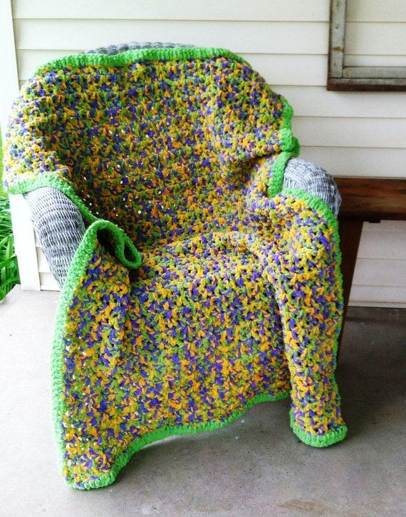Crochet Pattern for a Quick & Easy Crochet Afghan Using Bernat Baby ...