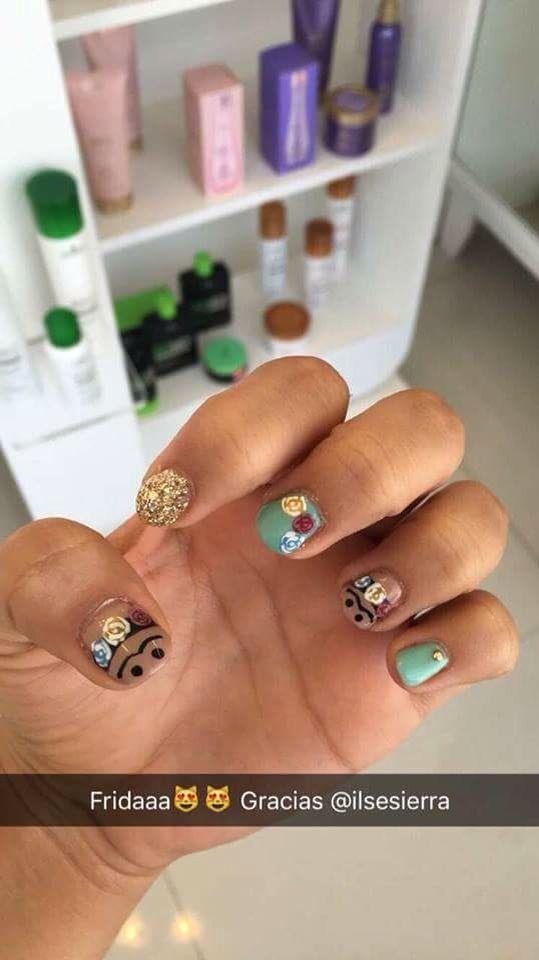 Nails, Frida Kahlo   Nails   Pinterest   Frida kahlo, Nail nail and ...
