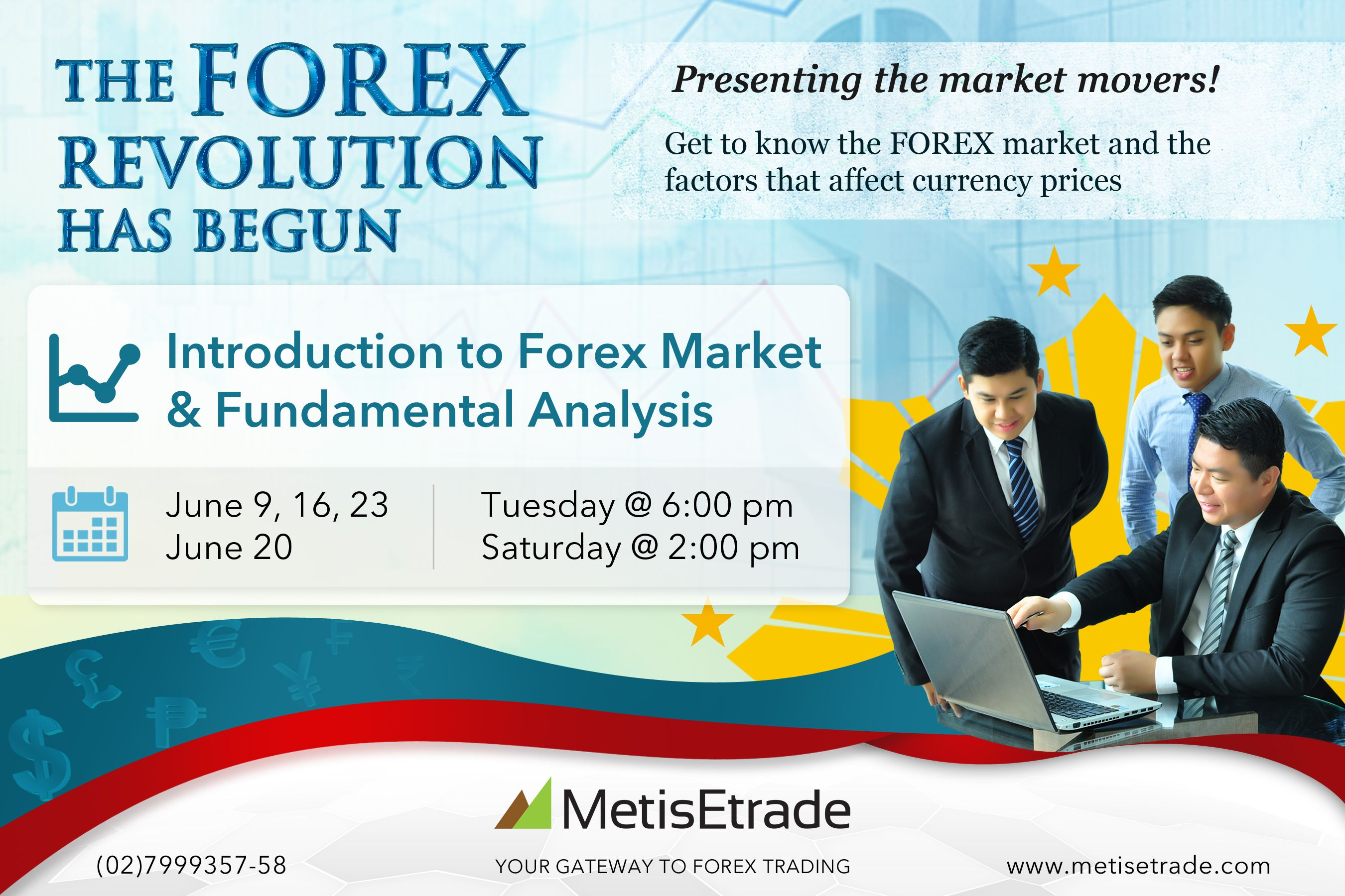 Join Us This Month For Our Introduction To Forex And Fundamental