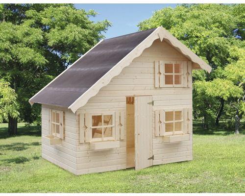 Spielhaus Palmako Tom Holz natur in 2019  Garten