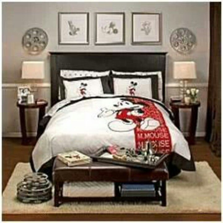 Changing My Master Bedroom Mickey Mouse