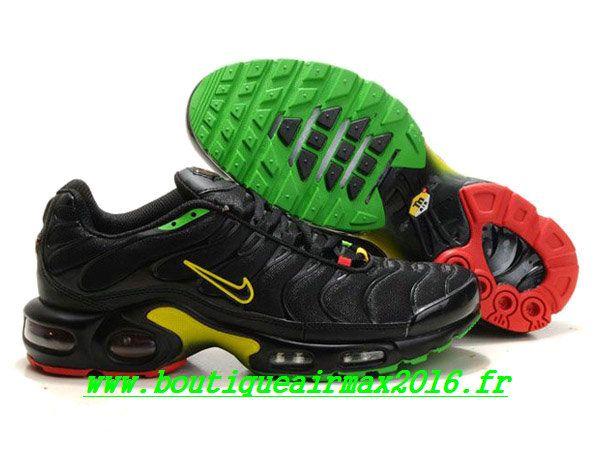 chaussure nike air max plus vert