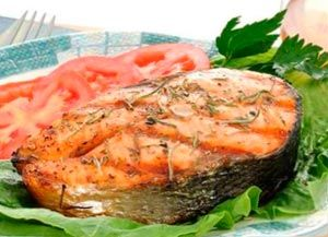 Блюда с красной рыбой