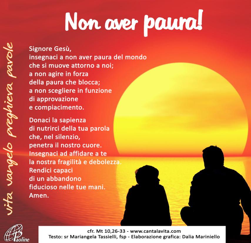 Non temere – Buona domenica! – XII domenica del Tempo Ordinario ...