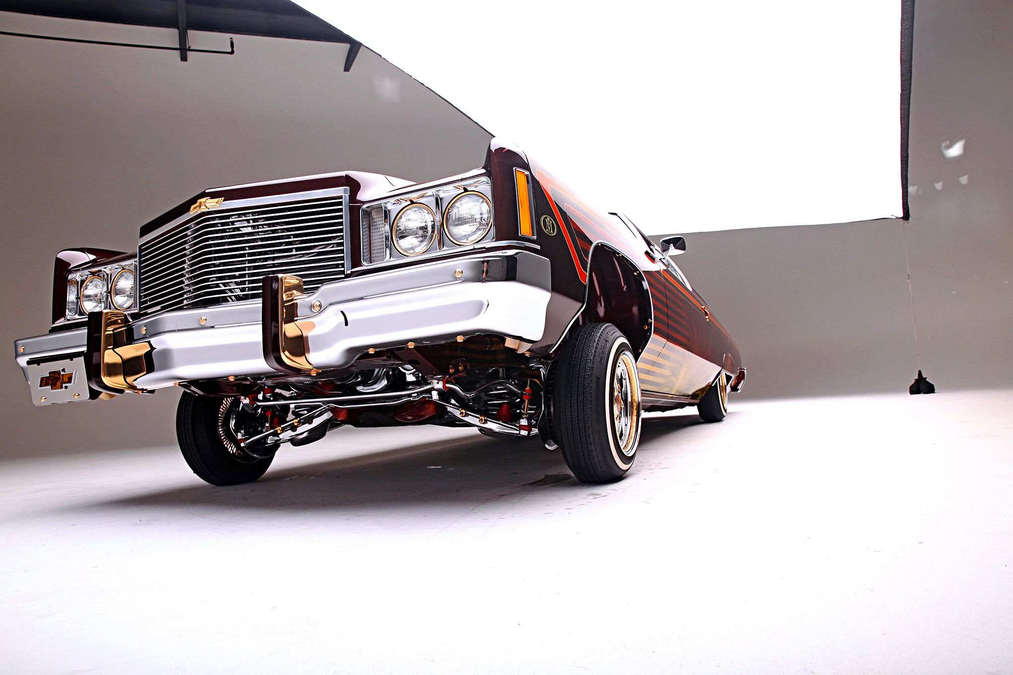 Stylistics Member, Juan Carlos Sosa always wanted to bring back lowrider styling from the '70s and what better platform to use than a '75 Impala Glasshouse.