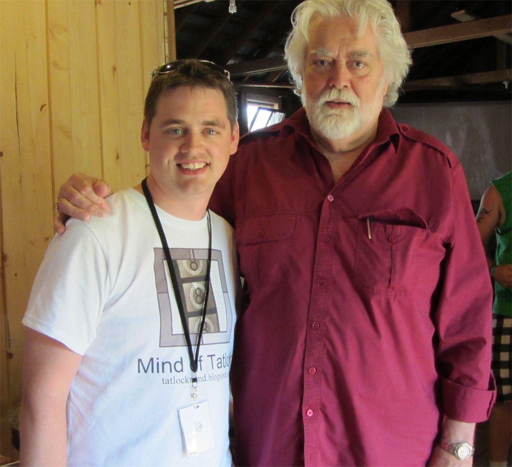 Me & Gunnar Hansen (Leatherface)