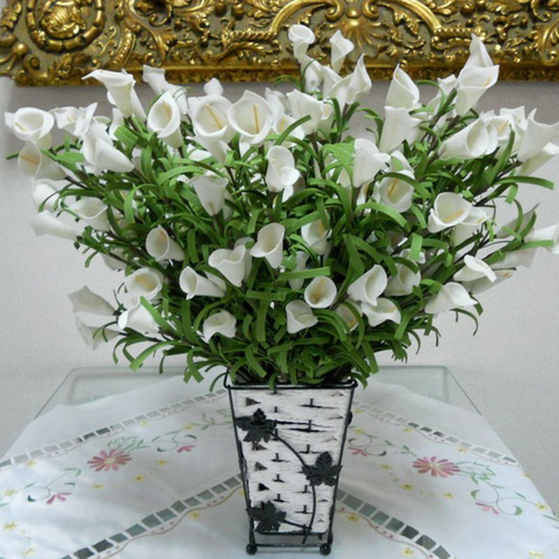 Comprar real touch flores artificiales for Plastico para estanques artificiales