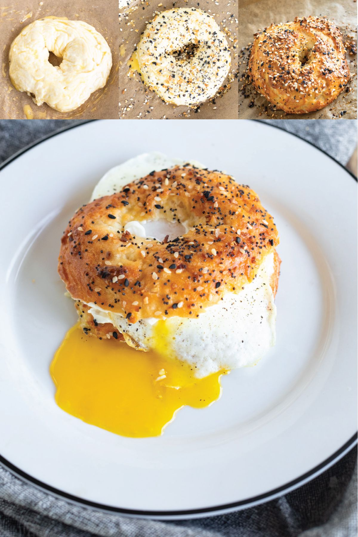 EASY Homemade Everything Bagels | Binge Worthy Bites