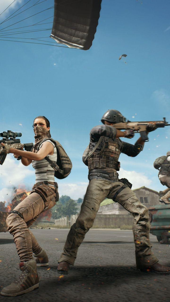 Playerunknown's Battlegrounds, soldiers, game, 720x1280 wallpaper