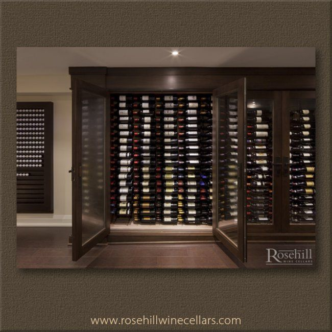 Rosehill Wine Cellars Built This Custom Wine Cabinet With A