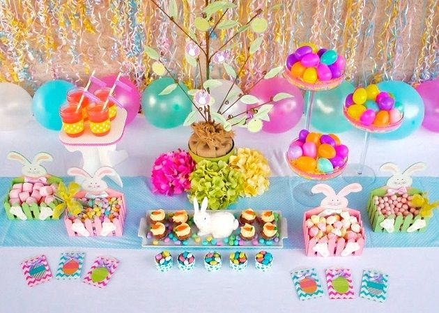 #easter #table #setting