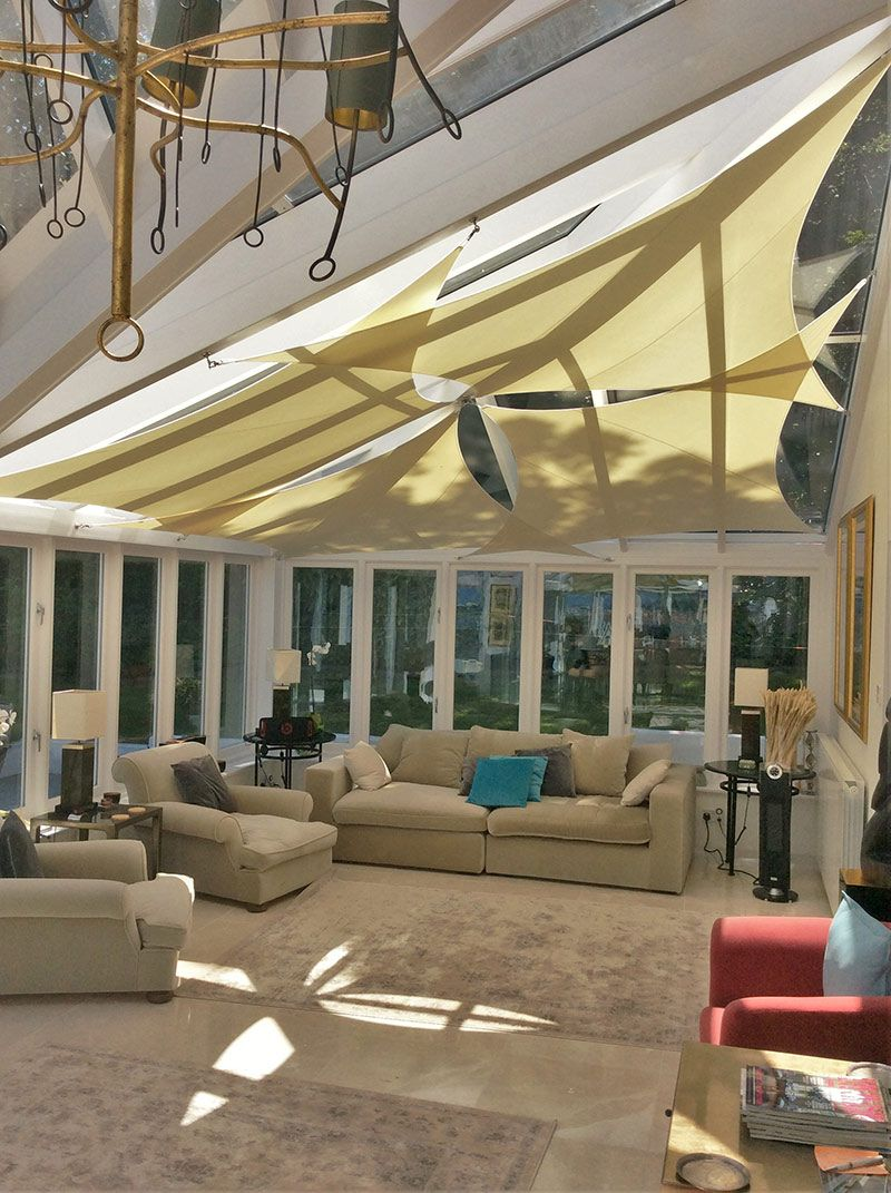 Inshade Sail Blinds Conservatory Design Shade Sail Conservatory Interior