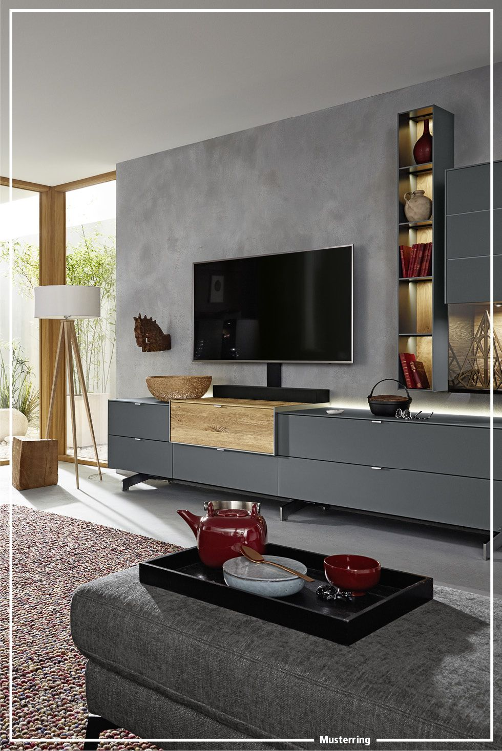 Musterring Q Media 2 0 Wohnzimmer Living Room Seating Relax Tv Stand