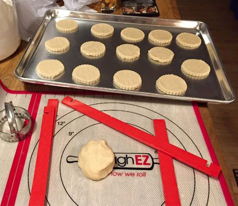 Shop Dough Ez Dough Rolling Mat With Guide Sticks It 39 S The Faster Easier Cleaner Way To Prepare Your Fa Baking Equipment Dough Recipe Cooking And Baking