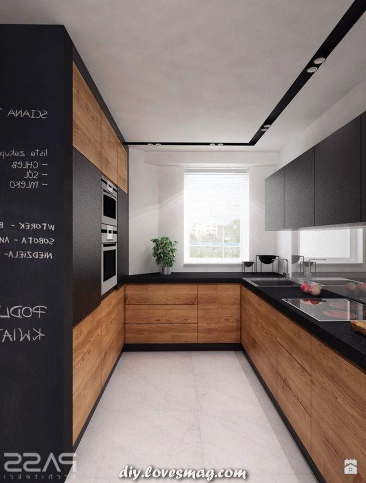 Moderne Kochstube Foto Von Pass Architekci Kuchnia Styl Nowoczesn In 2020 Kuchen In U Form Kuche Holzoptik Kuche Weiss Holz