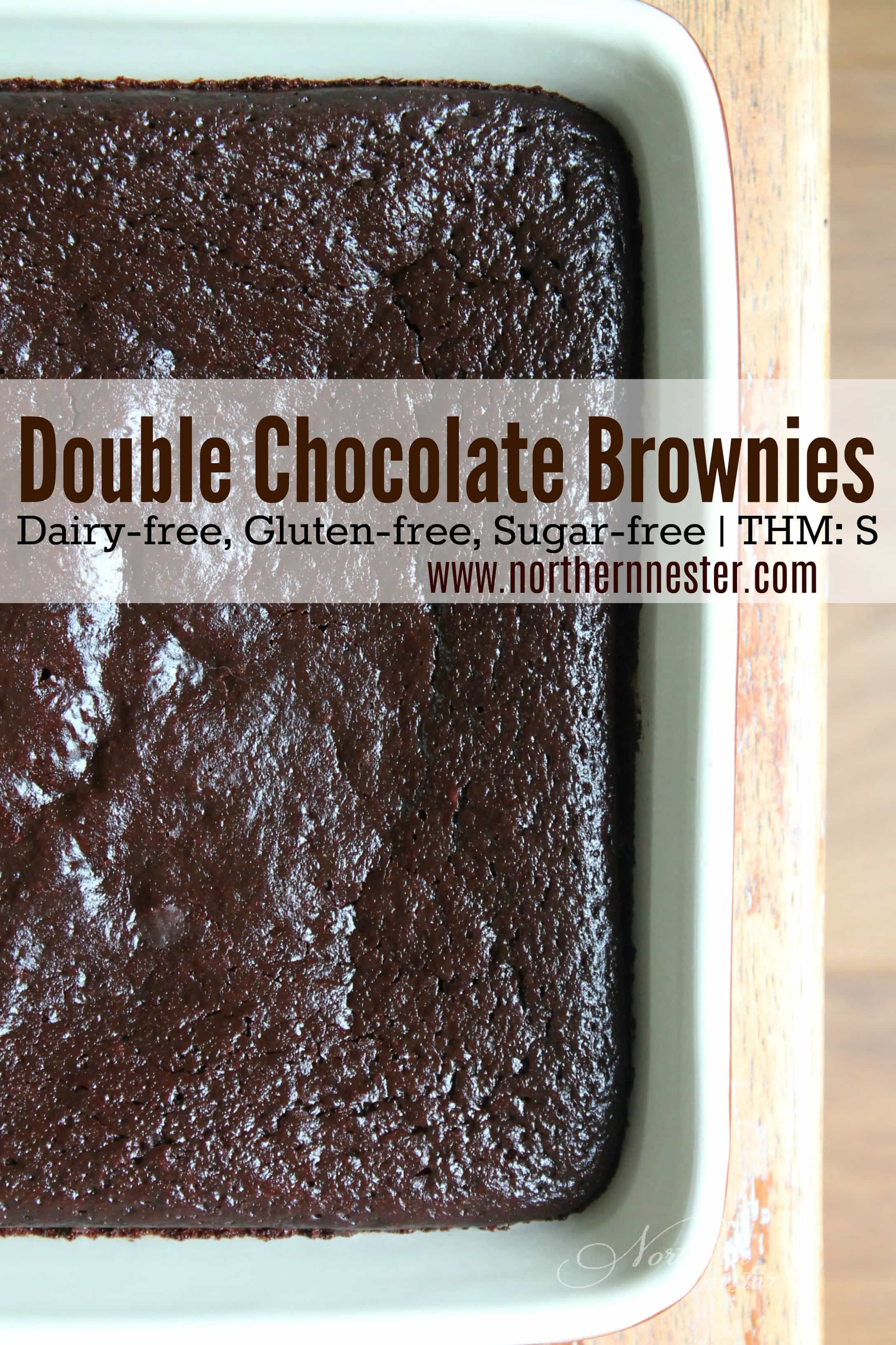 Double Chocolate Brownies Thm S Recipe Double Chocolate