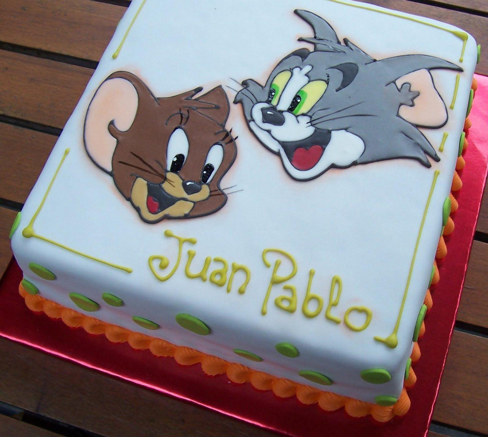 Tom And Jerry Cartoon Birthday Cake Ideas Google Search Tortas