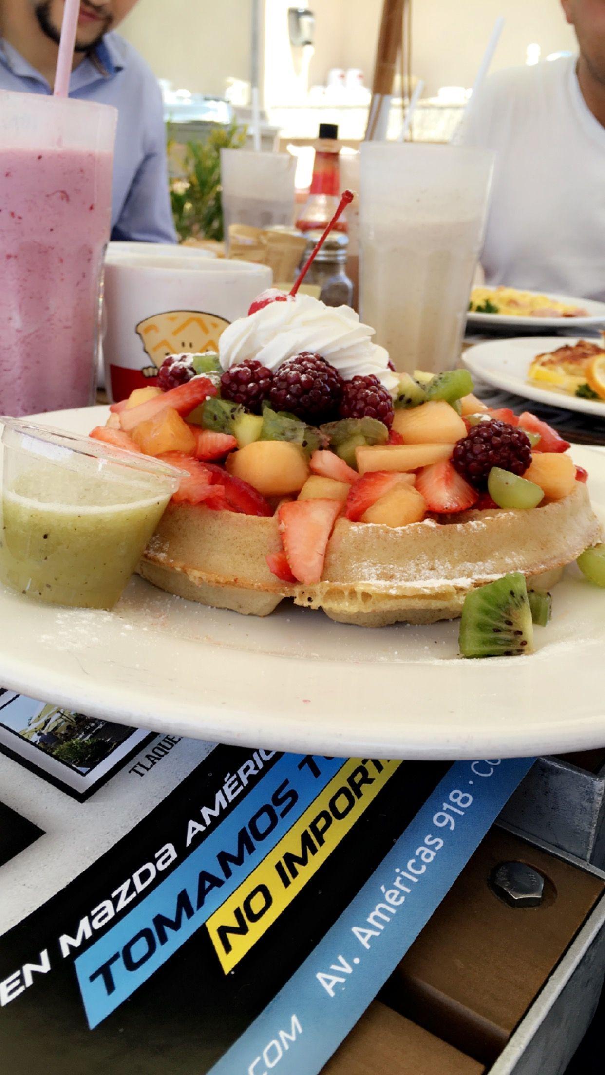 La Casa Del Waffle!!! Guadalajara,Jalisco www.lacasadelwaffle.com.mx