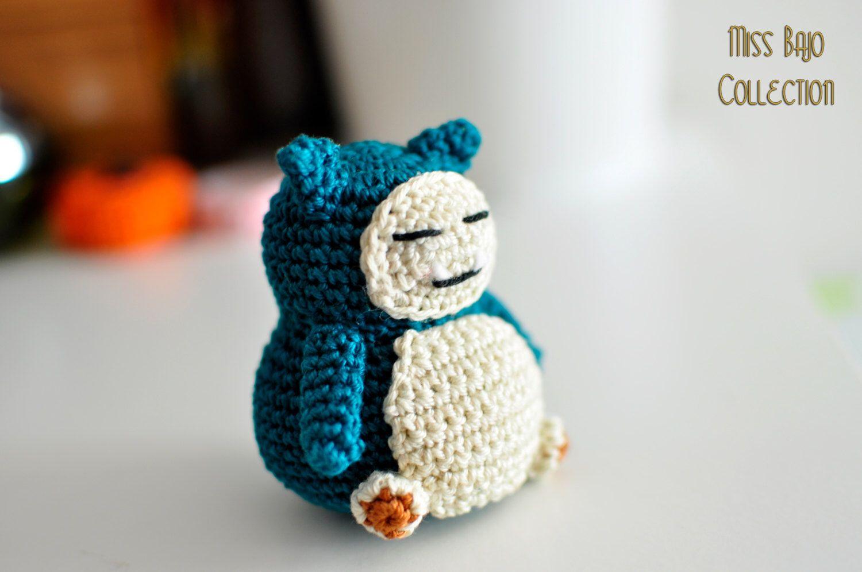 Snorlax | amigurumi | Pinterest | Frikis, Pokémon y Llaveros