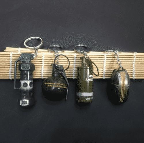PUBG Collectable Key Chain M18 Smoke Grenade Keyring PUBG