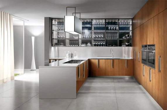 Italian Modern Design Kitchens - Barrique by Ernestomeda - ernestomeda barrique