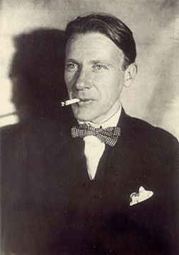Mikhail Bulgakov, author of Master and Margarita. We share the same birthday, May 15th.