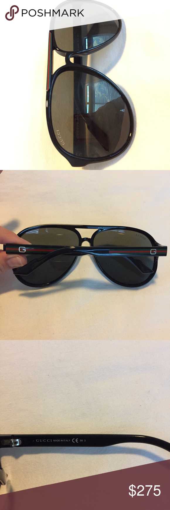 AUTHENTIC Gucci Sunglasses GG 1627 s D28 R6 AUTHENTIC Gucci Sunglasses.  They were a41d20a858