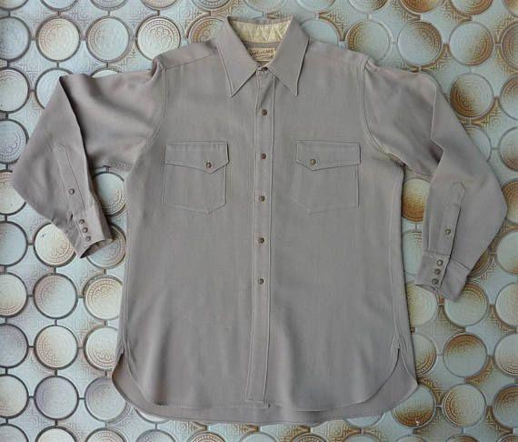 08292368 Game and Lake Sportswear Vintage 1940s Men's Western Work | Vintage ...
