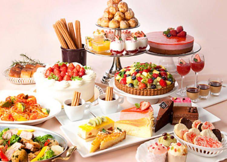 Sweet Delights Tokyo S Top 5 All You Can Eat Dessert Buffets Live Japan Travel Guide Eat Dessert Dessert Buffet Eat
