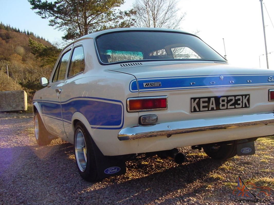 Here i have my tax exempt Mk1 Escort for sale. this is due to me ...