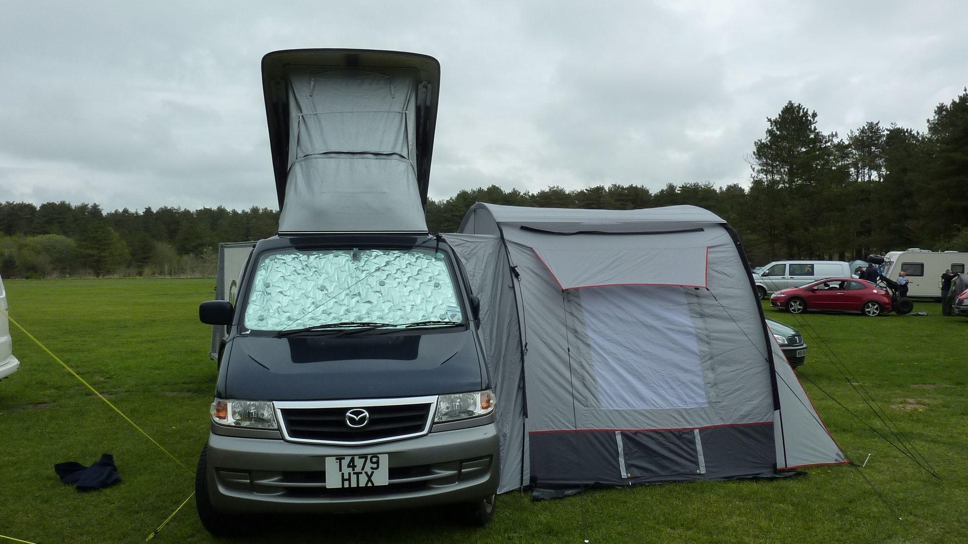 extending campervan