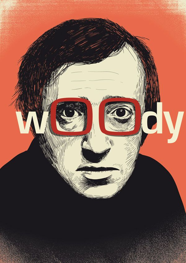 Woody Allen- haven't seen any movies he'd done that I can remember ...