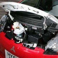 i miev engine compartment mitsubishi i mitsubishi cars mitsubishi pinterest