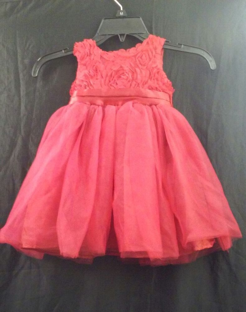 Holiday Editions Baby Girl Infant Size 5 months Floral Church