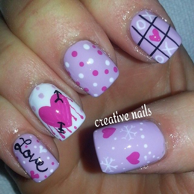 VALENTINE by creativenails15 #nail #nails #nailart