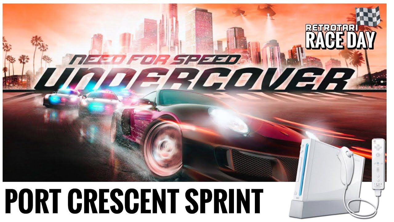 Need For Speed Undercover Port Crescent Sprint Nintendo Wii Youtube Racing Video Games Race Day Arcade
