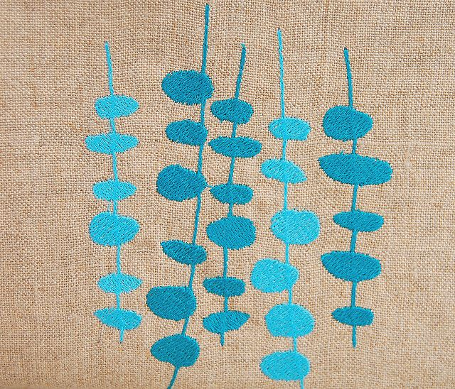 pods on linen by merringuedesigns