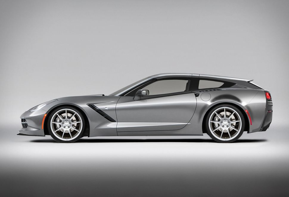 callaway shooting brake based 2014 chevrolet corvette ... |Callaway Stingray Wagon