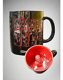 The Walking Dead Molded Zombie Coffee Mug