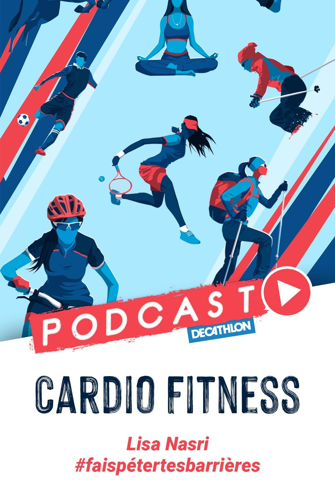 Podcast Lisa Nasri Fiere De Son Corps En 2020 Coach Sportif Fitness Decathlon