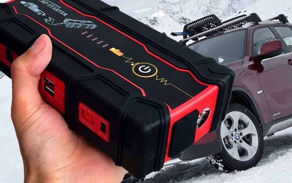 High Car Jump Starter 800a Peak Battery Booster Charger For Starting Device