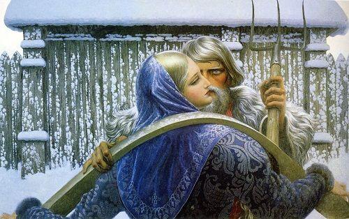 Festés orosz művész Konstantin Vasziljev