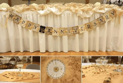75 Unique 70th Wedding Anniversary Party Ideas 50th
