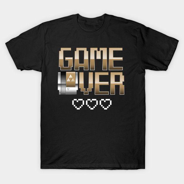 Game Over - Legend of Zelda T-Shirt - The Shirt List