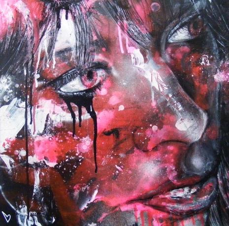 David Walker spray paint art