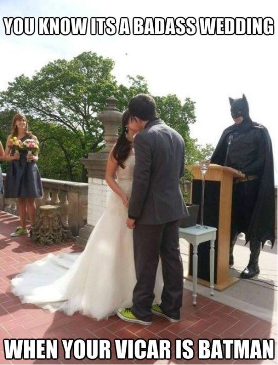25 Funniest Wedding Meme Pictures And Images Batman Wedding Funny Photos Funny Pictures