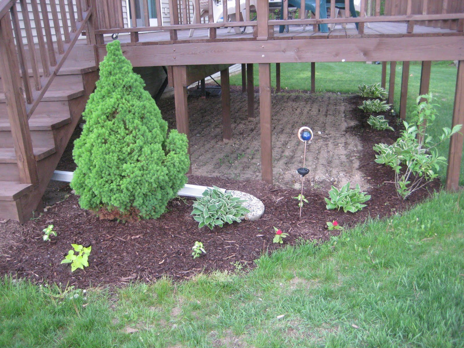 Landscaping Under Deck Under Deck Landscaping Deck Landscaping