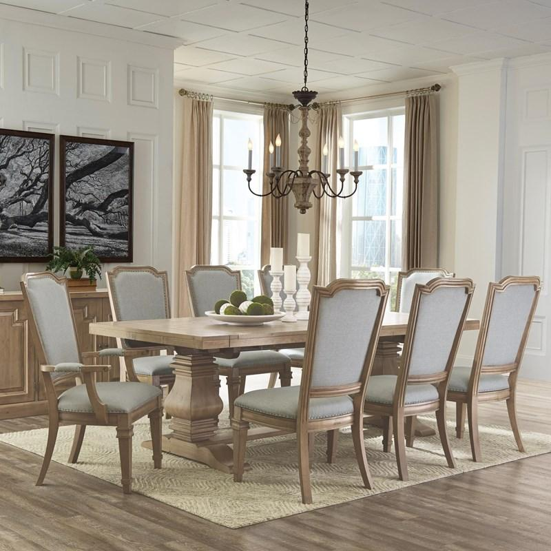 Florence Dining Table With Trestle Base 180201 In 2020 Dining