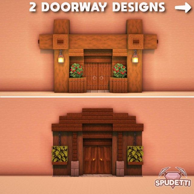 2 doorway design tutorials I made today