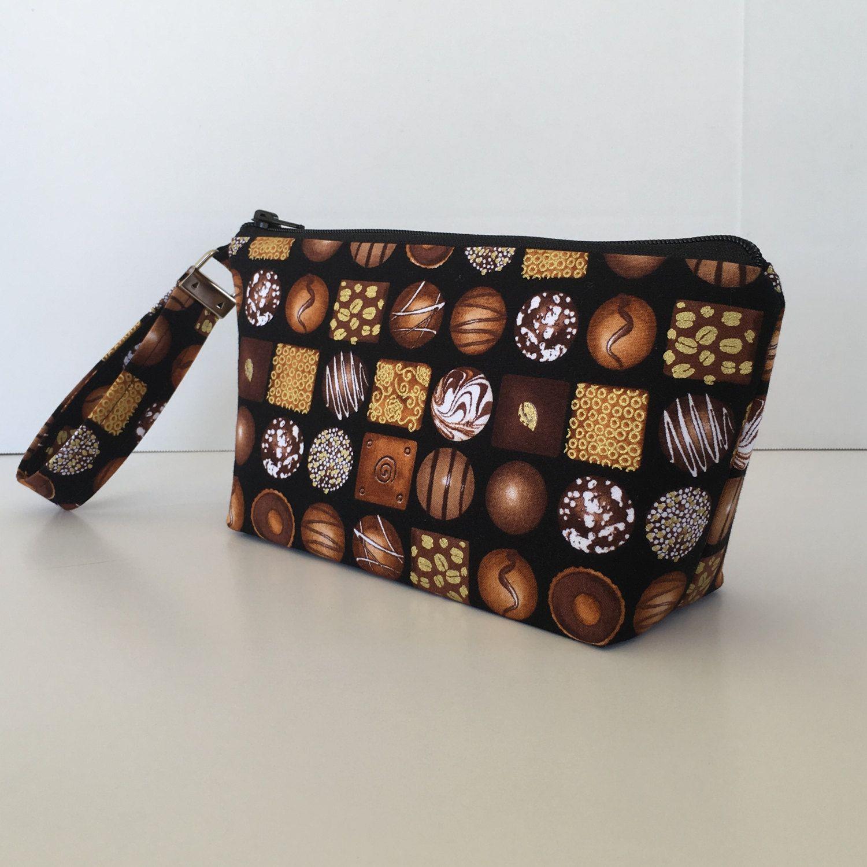 Box o' Chocolates makeup bag medium size cosmetic purse